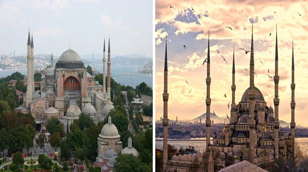 رحلة اسطنبول متحف ايا صوفيا والجامع الازرق